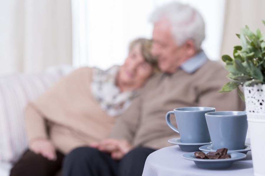 Happy marriage on retirement