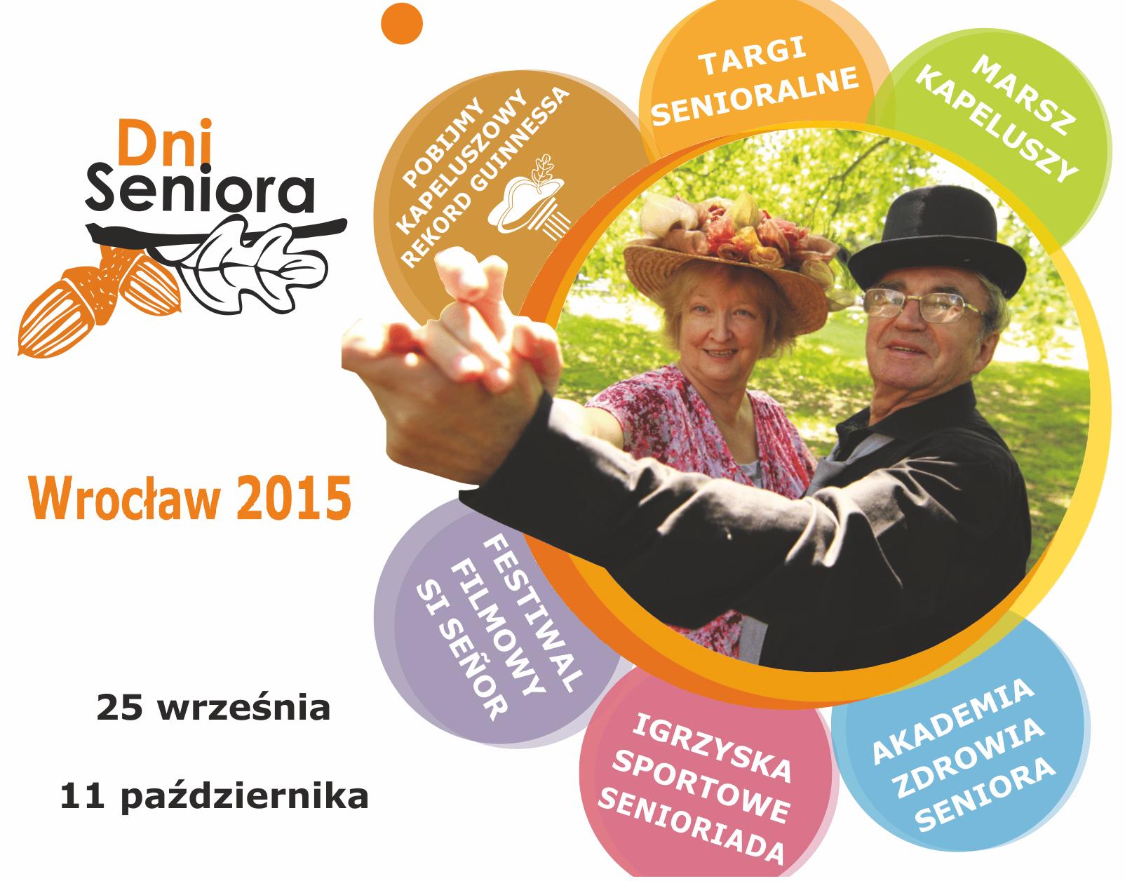 Harmonogram Dni Seniora 2015