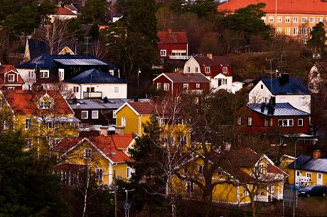 Nad jeziorem Melar – Szwecja