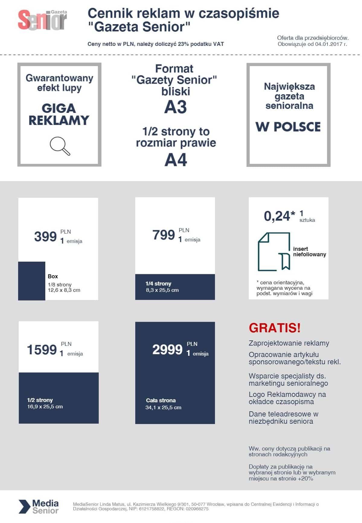 Cennik-reklam-Gazeta Senior 2017