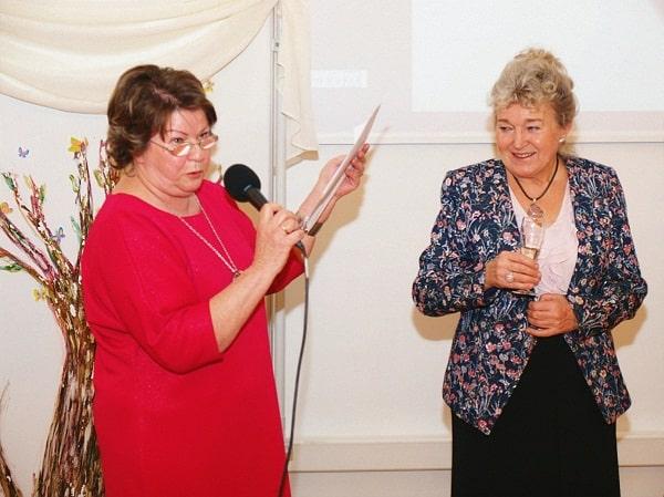 Jubileusz 50-lecia pracy dla seniorów Walentyny Wnuk
