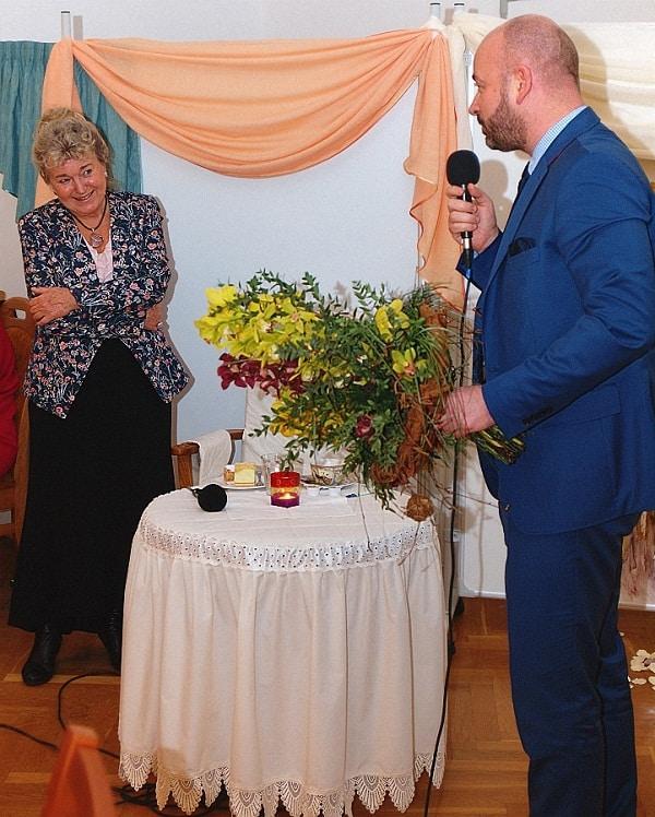Jubileusz 50-lecia pracy dla seniorów Walentyny Wnuk W-W_fot 5 Tadeusz Wilk