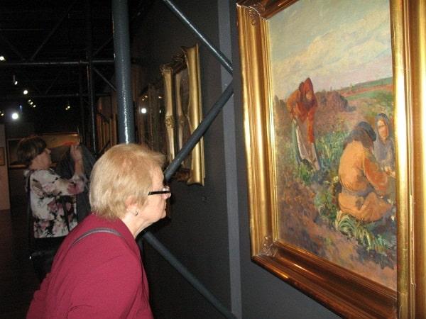 Seniorzy w Muzeum