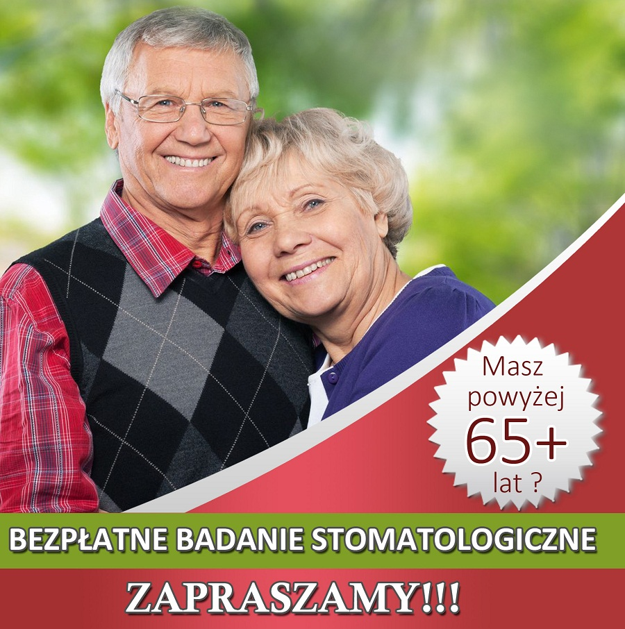 bezpłatne badania stomatologiczne dla seniorów