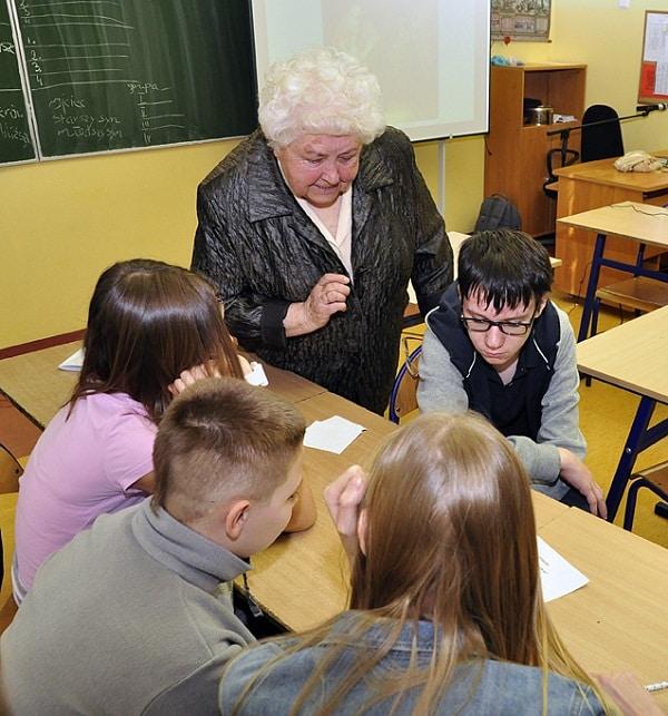 Wrocław Miasto Pokoleń lekcja z seniorami