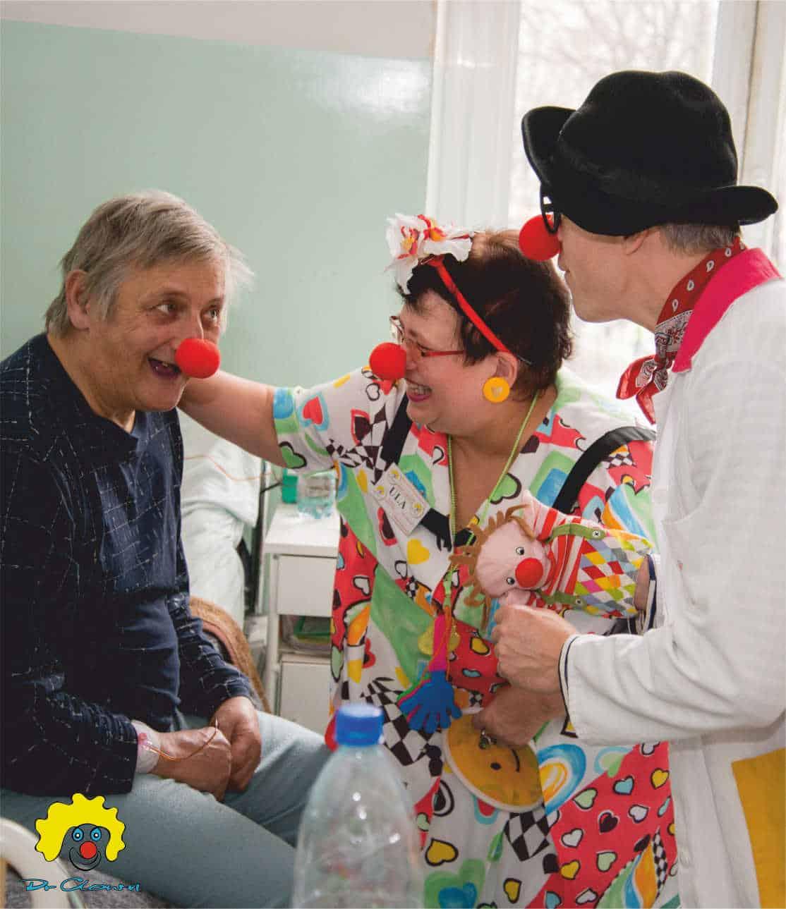 Uśmiech Senior. Fundacja Dr Clown