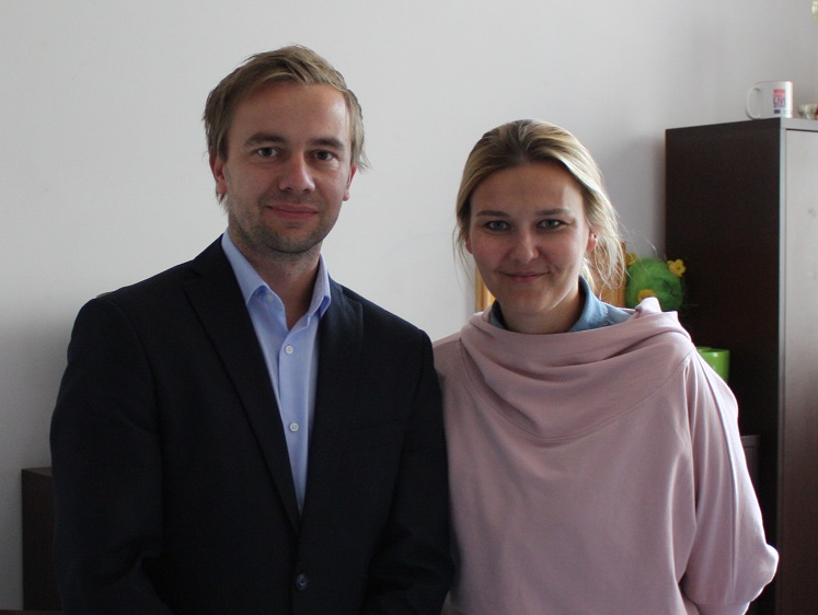 Wojciech Bauer i Linda Matus_Poznań sierpień 2016_wywiad