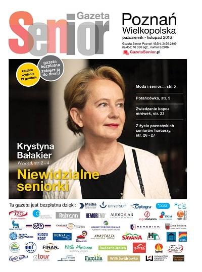 Gazeta Senior Poznań Paź 2016