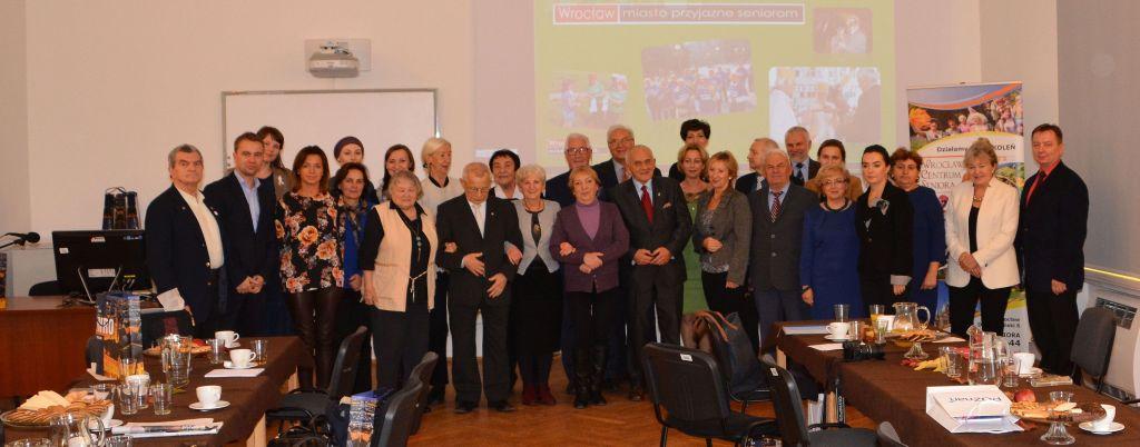 Spotkanie Wrocławskiej Rady Seniorów z Miejską Radą Seniorów z Poznania