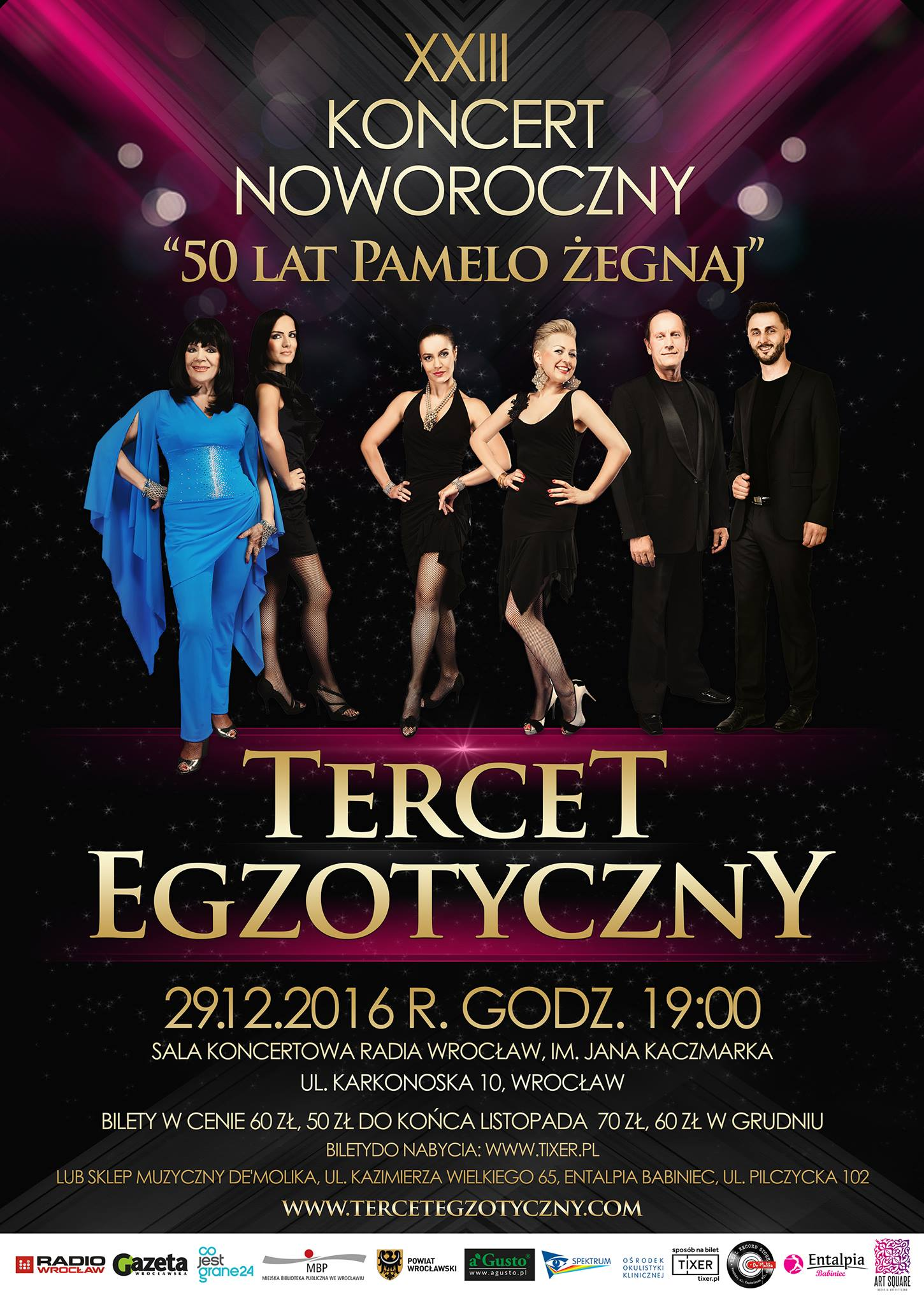 XXIII Koncert Noworoczny – plakat