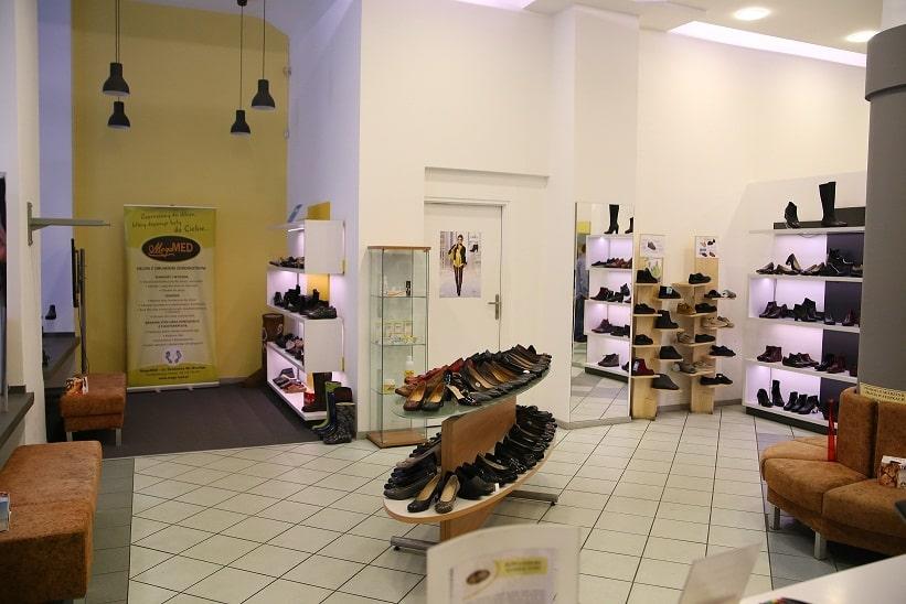 Salon obuwia i gabinet podologiczny