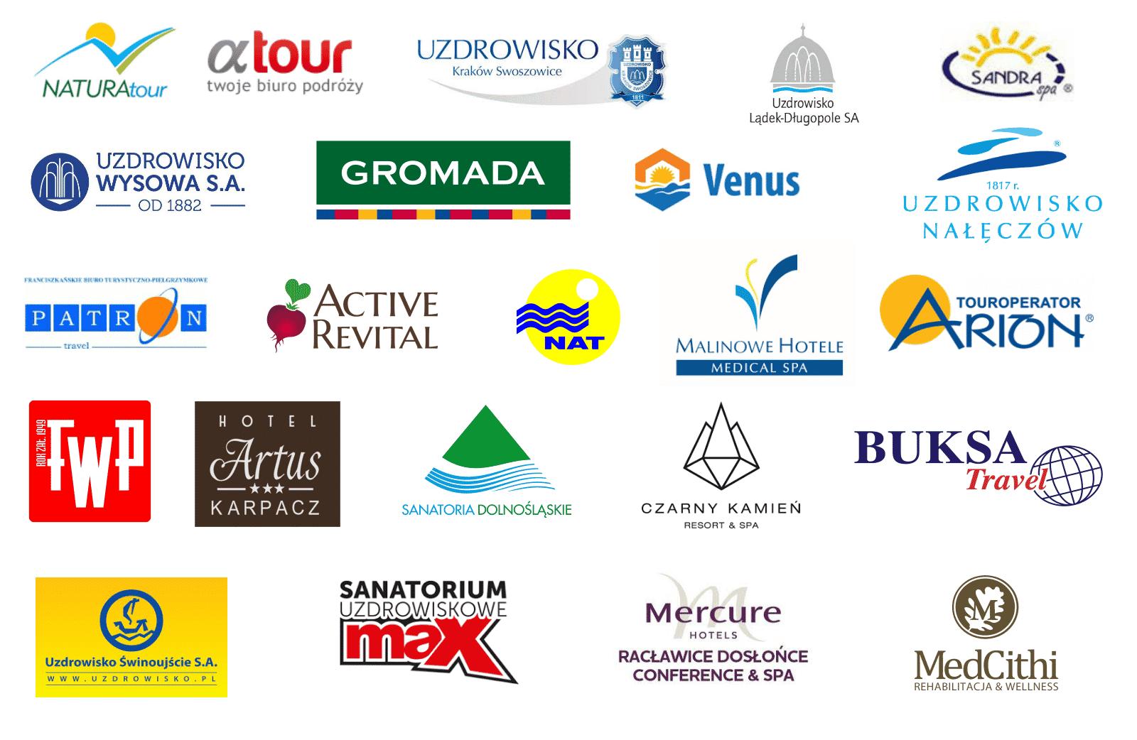 Logotypy Turystyka