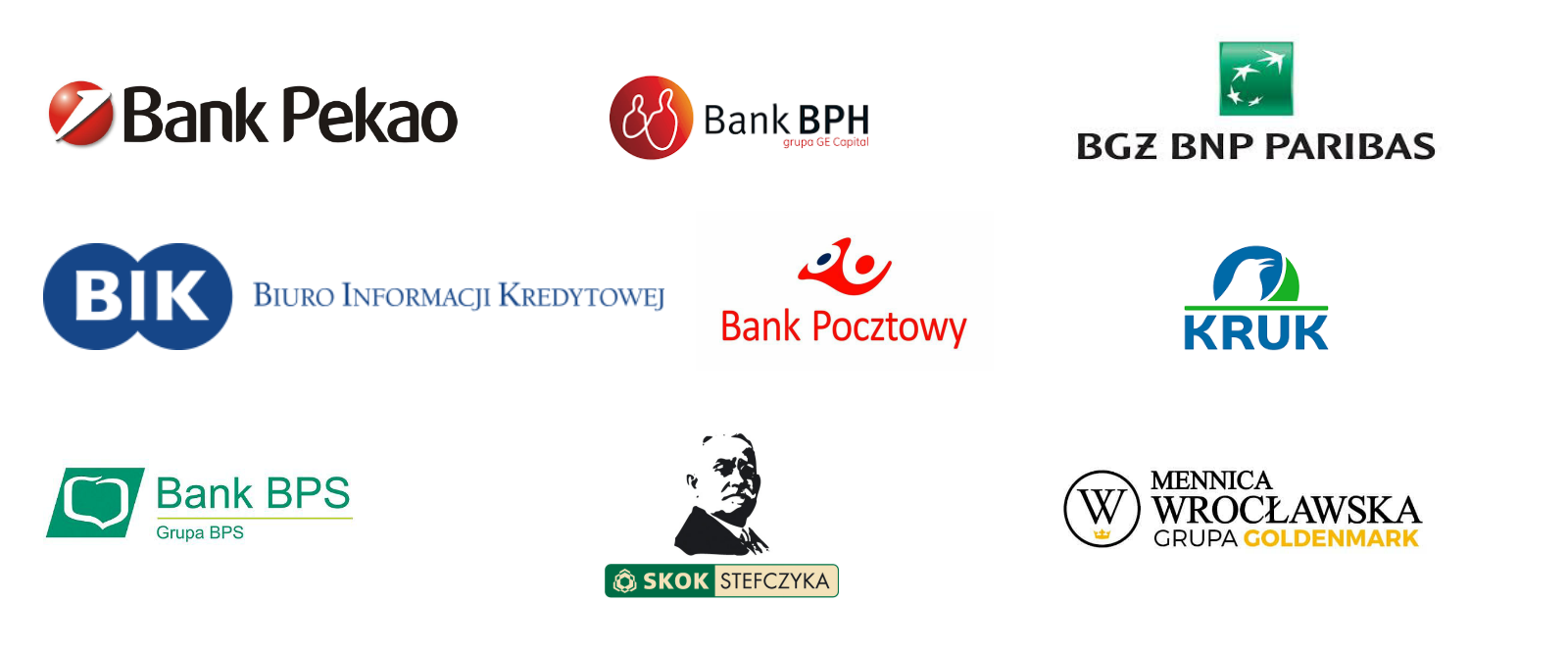 Logotypy finanse
