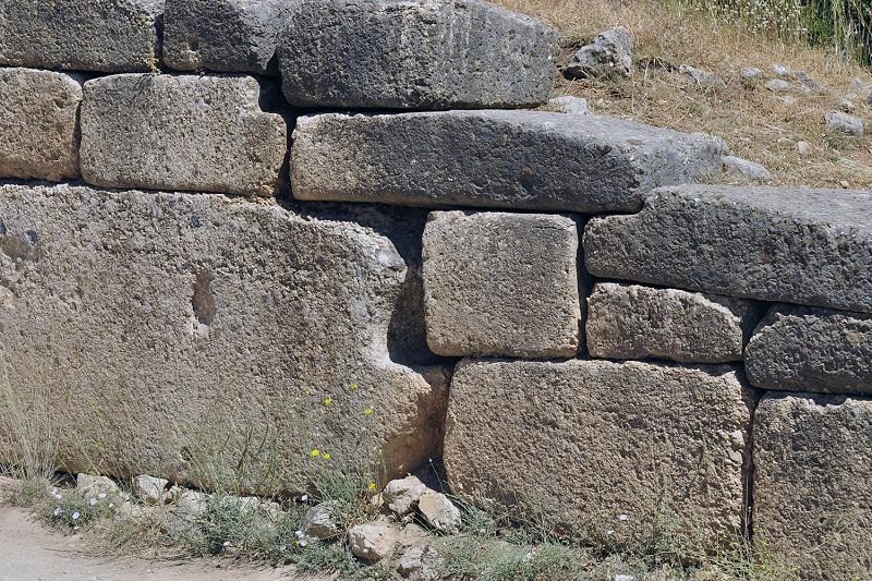 9_Mykeny, mury cyklopowe