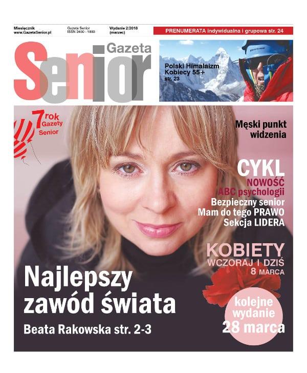 Gazeta Senior okładka marzec 2018