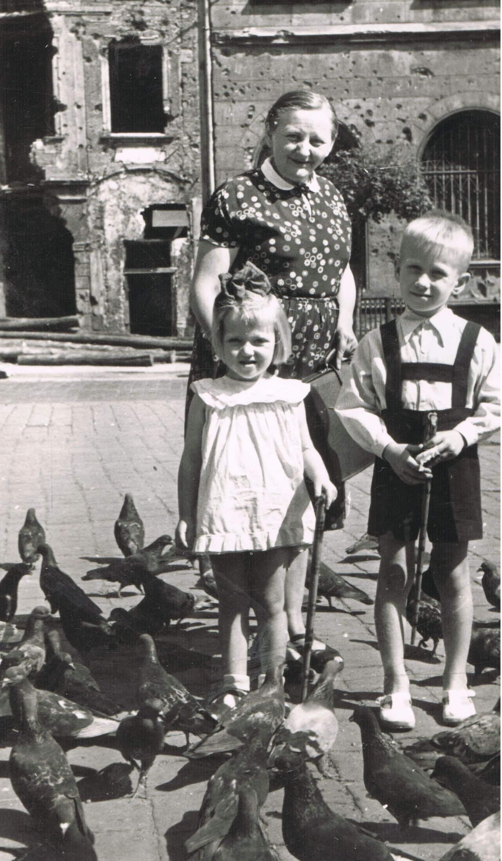 Jolanta Maria Kaleta w wieku 3 lat