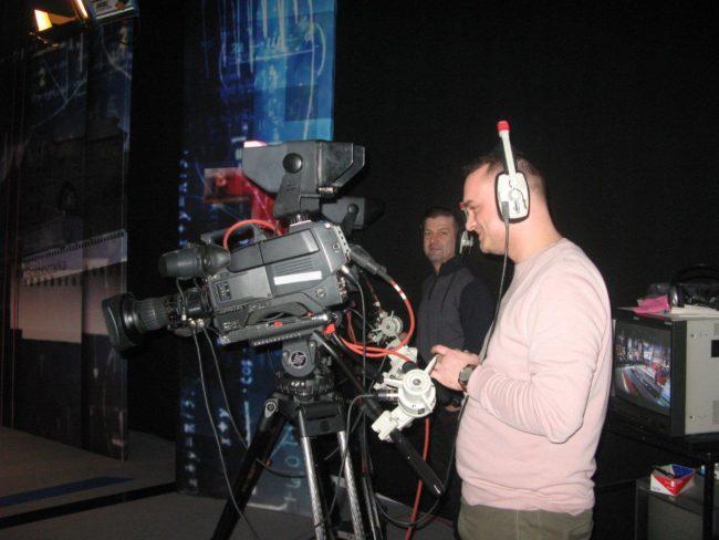 KUTW w telewizji - praca kamerzysty