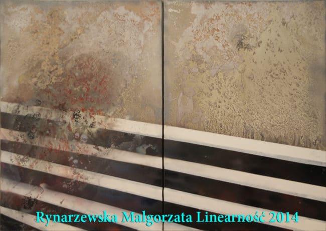 """Małgorzata Rynarzewska """"Linearność"""""""