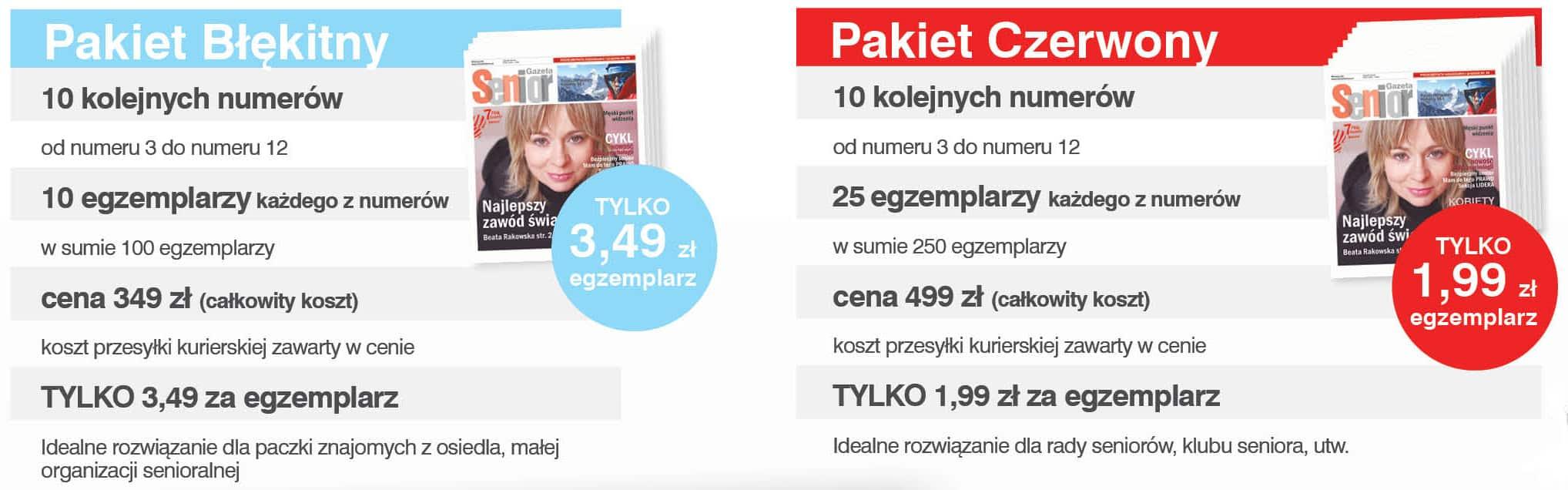 Prenumerata pakiety promocja