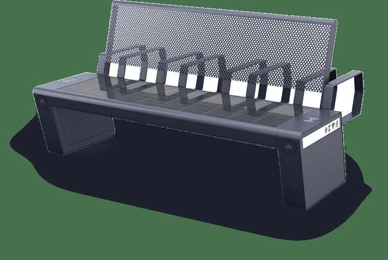 Przykład nowoczesnej ławki (1)