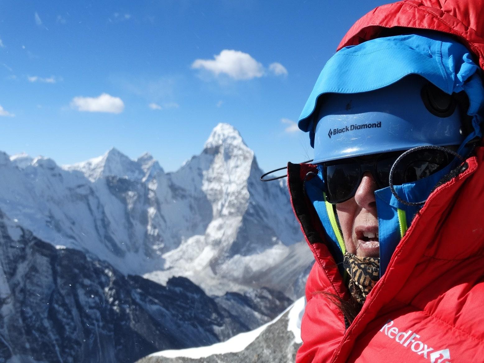 Agnieszka Adamowska – Island Peak, Himalaje