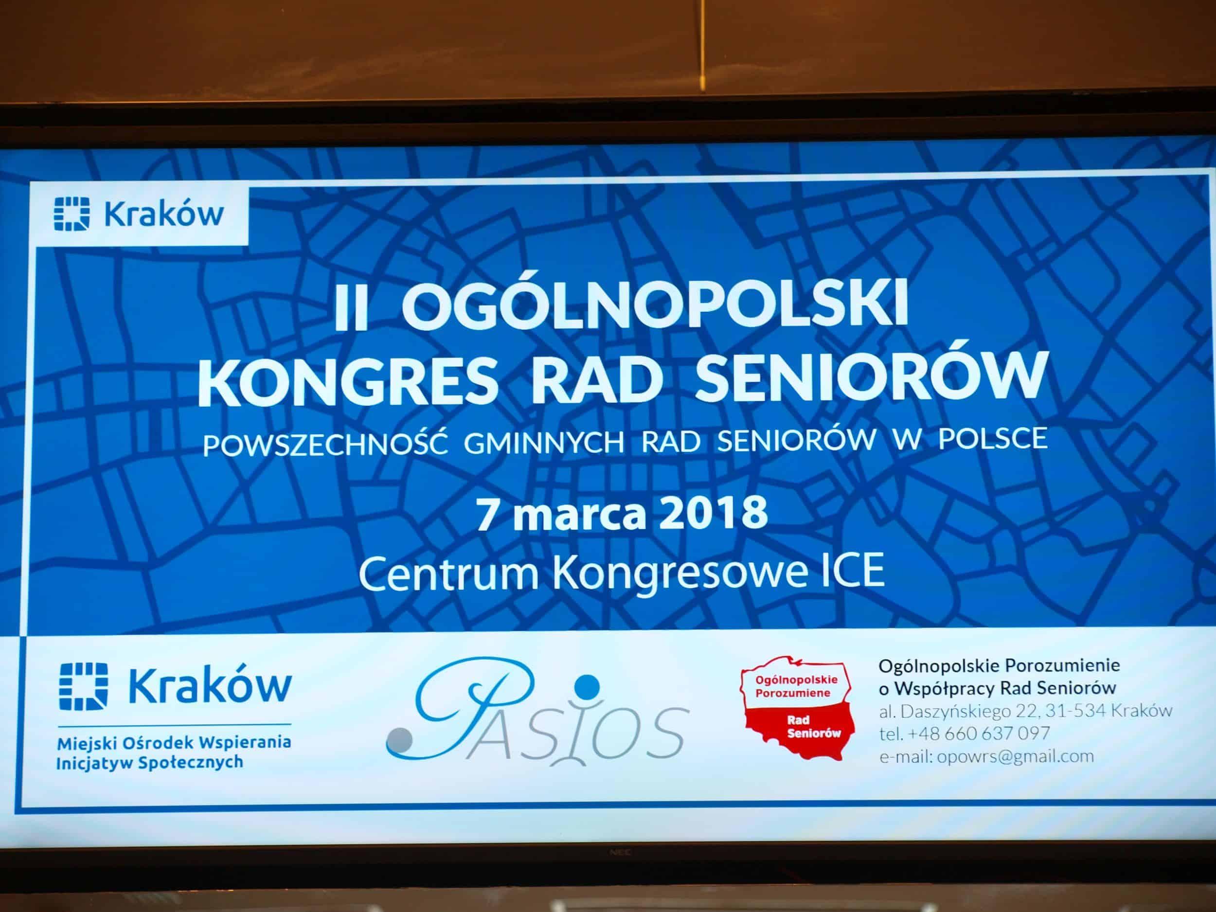 II Ogólnopolski Kongres Rad Seniorów – relacja