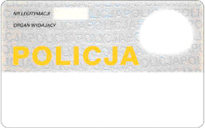 Legitymacja Policja 2