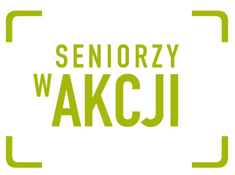 Konkurs Seniorzy w akcji- logo
