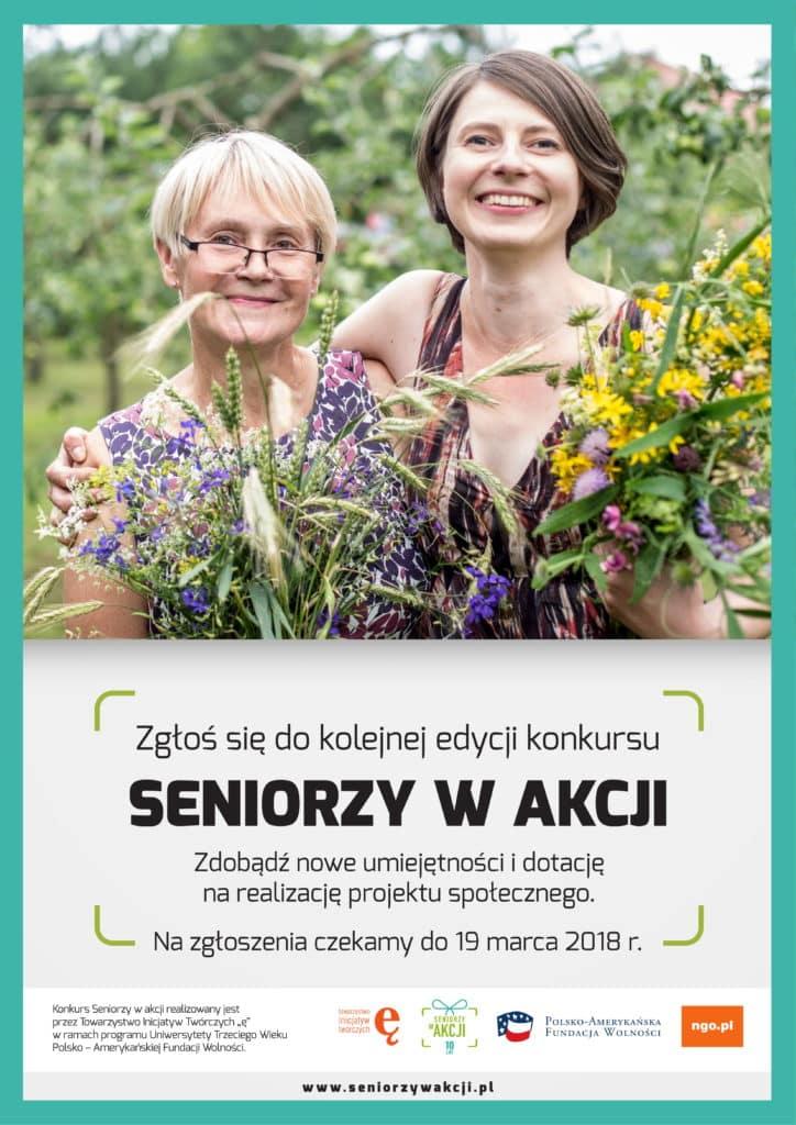 Konkurs Seniorzy w akcji, do zdobycia 12 000 zł