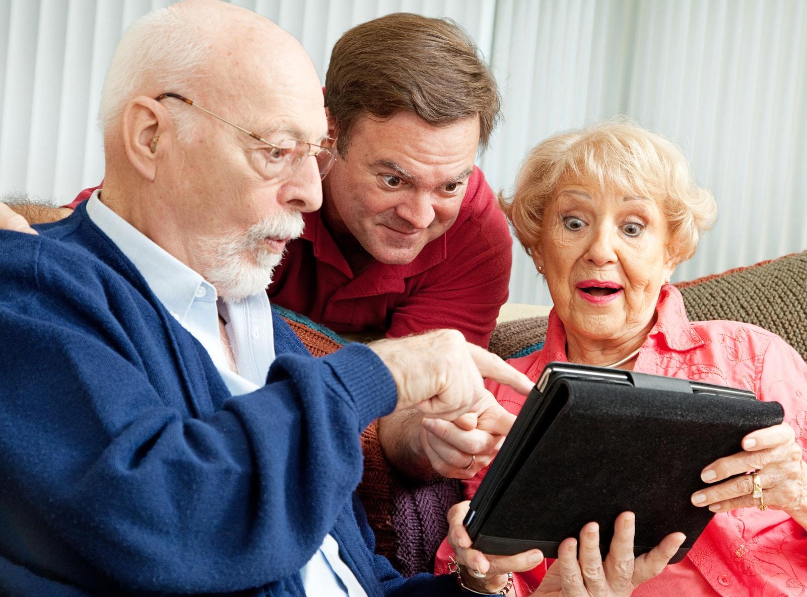 Analogowy dziadek
