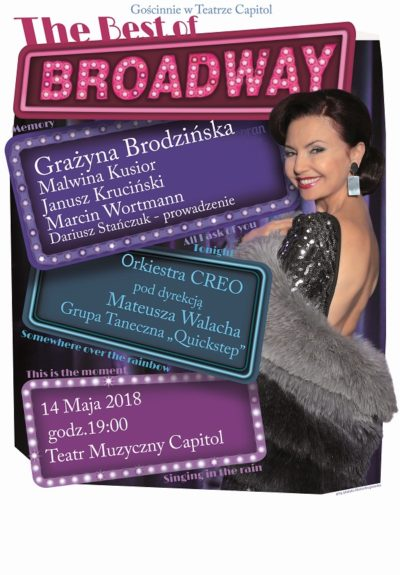 Plakat - The Best of Broadway- Wrocław