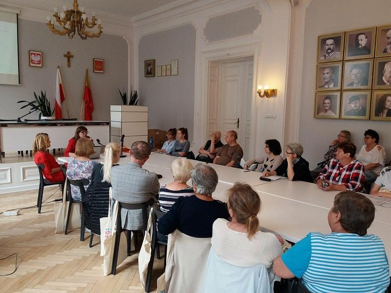 Celina Maciejewska to pierwszy rzecznik seniorów w Polsce