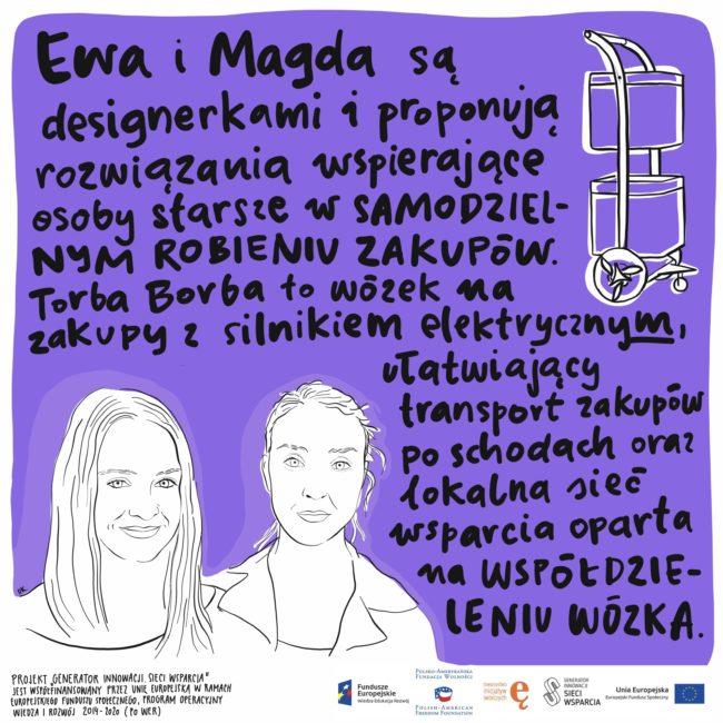 Projektanci i designerzy dla osób starszych. Ewa - projekt Dorota Kostowska