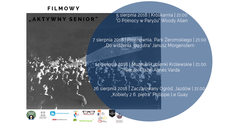 Aktywny Senior – seanse filmowe