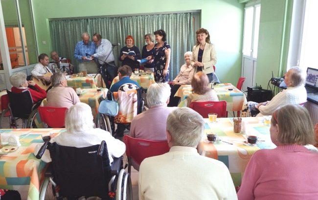 CAS Uskrzydleni Wieczysta...Koncert dla Podopiecznych Domu Opieki