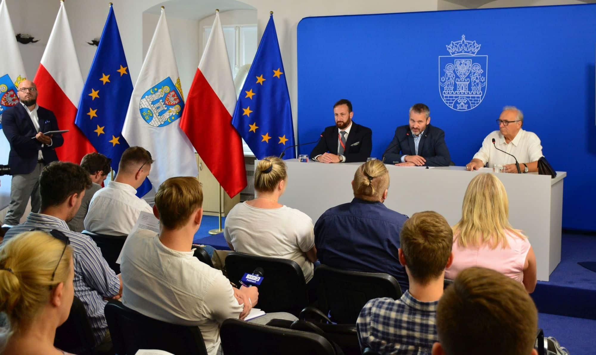 """""""Poznań VIVA senior"""" – konferencja prasowa"""