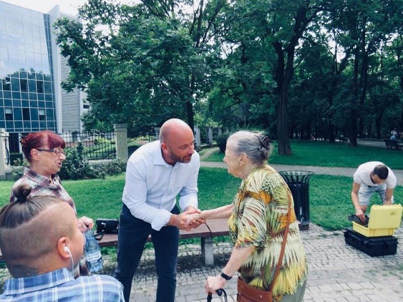 Jacek Sytryk spotkanie z wrocławskimi seniorami 2