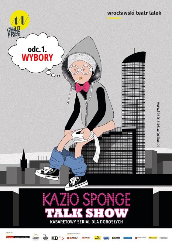 Kazio_Sponge_plakat