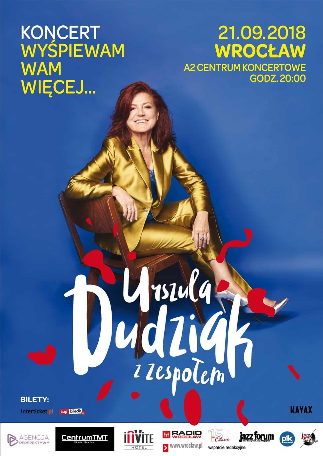Urszula Dudziak – koncert we Wrocławiu