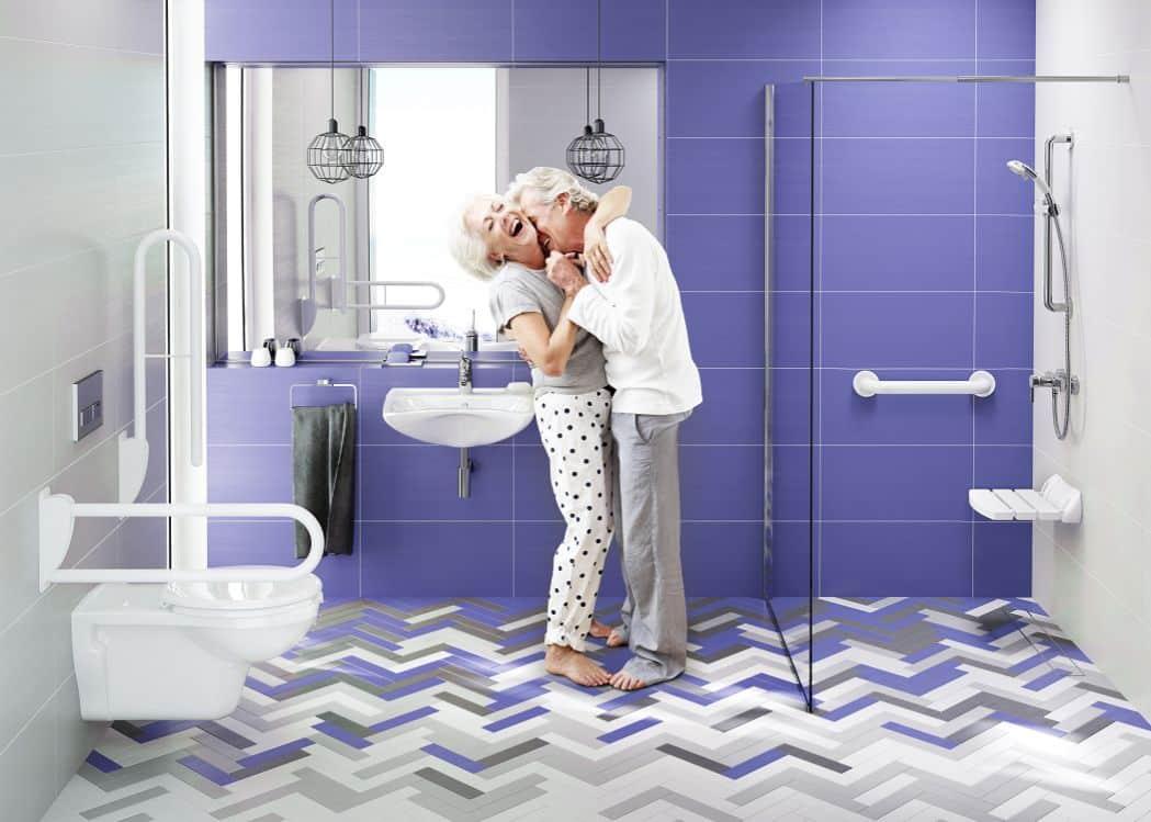 Łazienka seniora może być ładna i praktyczna