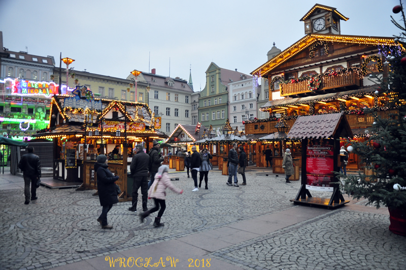 Wrocławski Jarmark Bożonarodzeniowy 2018 rozpoczęty