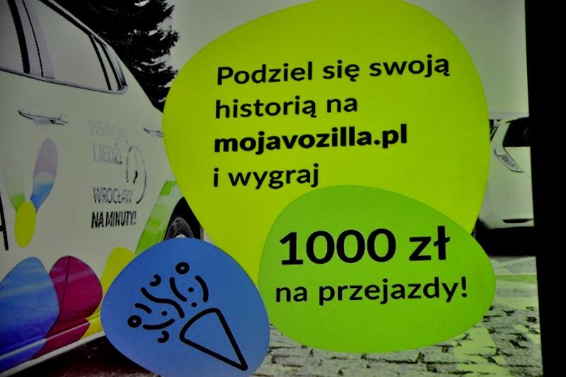 Vozilla już rok jeździ po Wrocławiu