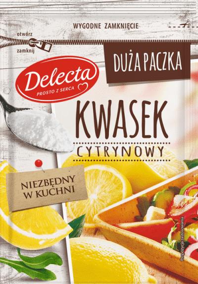 Delecta – Kwasek Cytrynowy