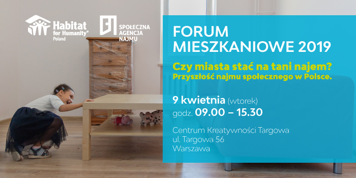Forum Mieszkaniowe dot. najmu społecznego