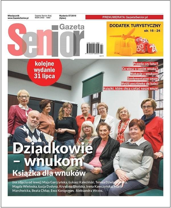 Gazeta Senior wydanie lipiec 2019_okładka