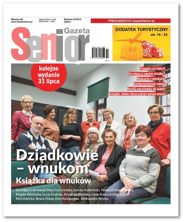 Gazeta Senior lipcowy numer