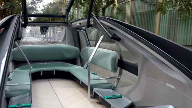 Renault EZ-GO to samochód przyszłości, czyli pojazd bez kierowcy