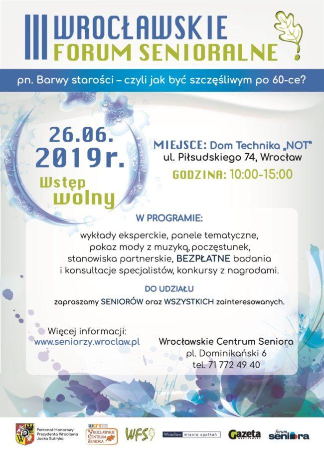 III Wrocławskie Forum Senioralne