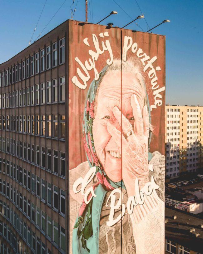 """""""Wyślij Pocztówkę do Babci"""" - fot. Maciej Korsan"""