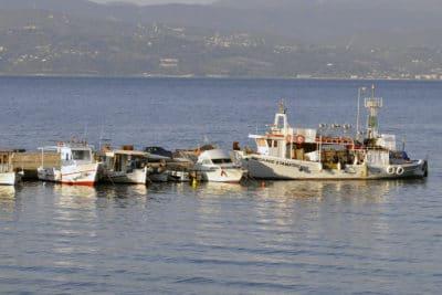 w greckim porcie rybackim, fot.©J.Dudzik